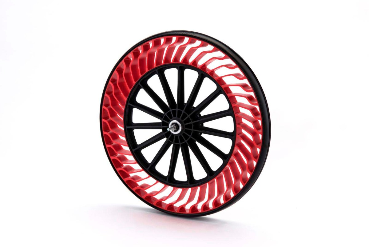 Bridgestone Close to Releasing an Airless Tire Design